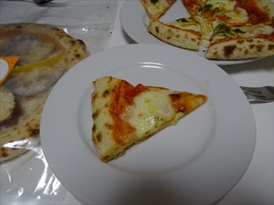 森山ナポリ、金沢ピザ工房、ダブルチーズマルゲリータ