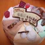 サーティワンアイスケーキ パレット6